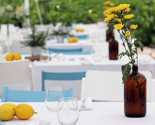 הפקת חתונה בטבע בקונספט יווני