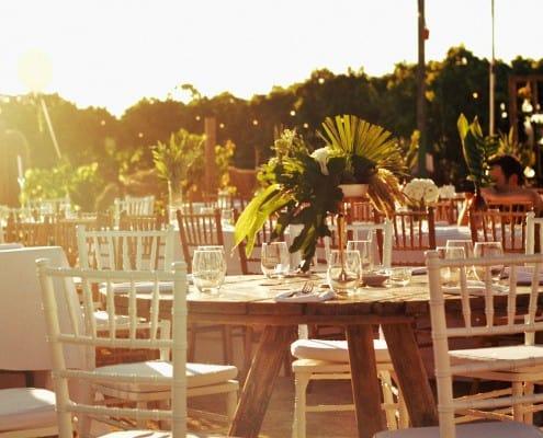 ריהוט לחתונה בטבע