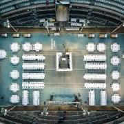 הפקת חתונה באצטדיון טניס רמת השרון