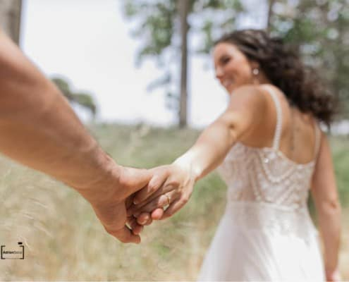 ירדן ועמית חתונה בטבע