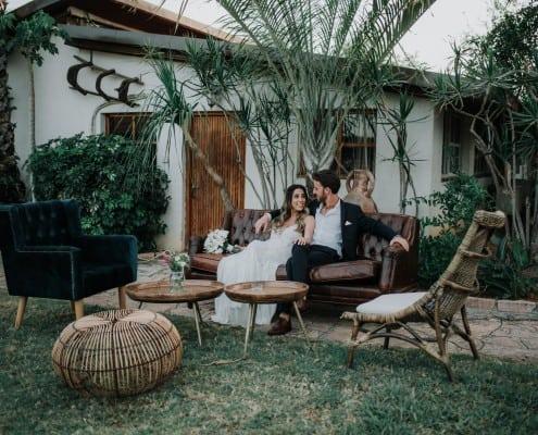 הפקת חתונה בחצר