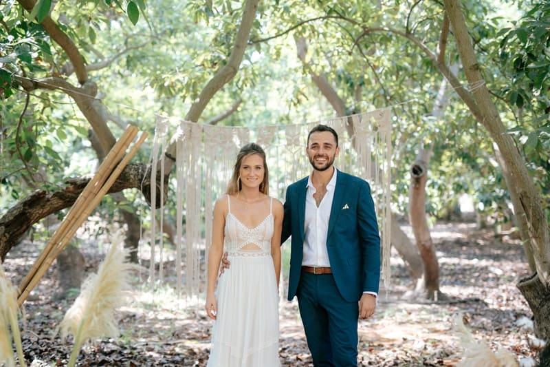 חתונה במטע אבוקדו