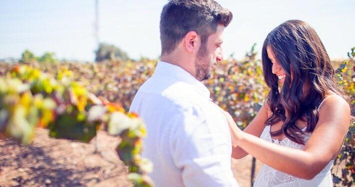 חתונה בהפתעה בכרם