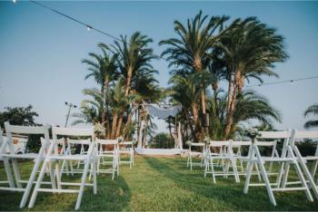 חתונה בוילה טרופית
